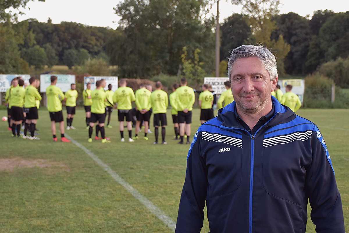 Sportief verantwoordelijke Frank Van Den Bossche