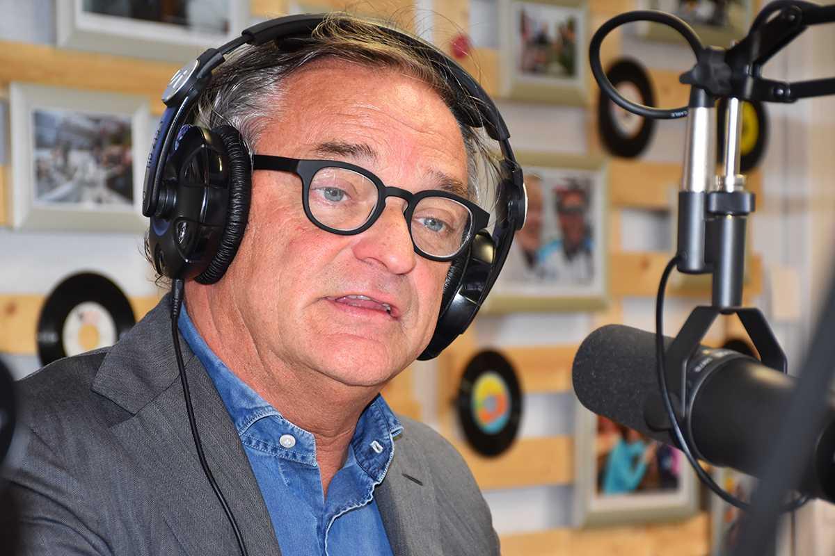 Lijsttrekker en huidig burgemeester Johan Van Tittelboom