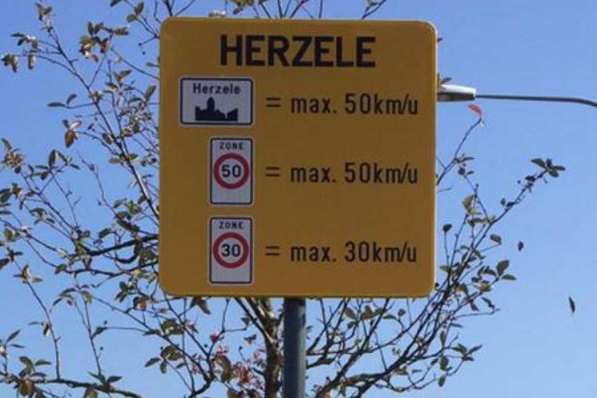 Zonaal snelheidsplan.