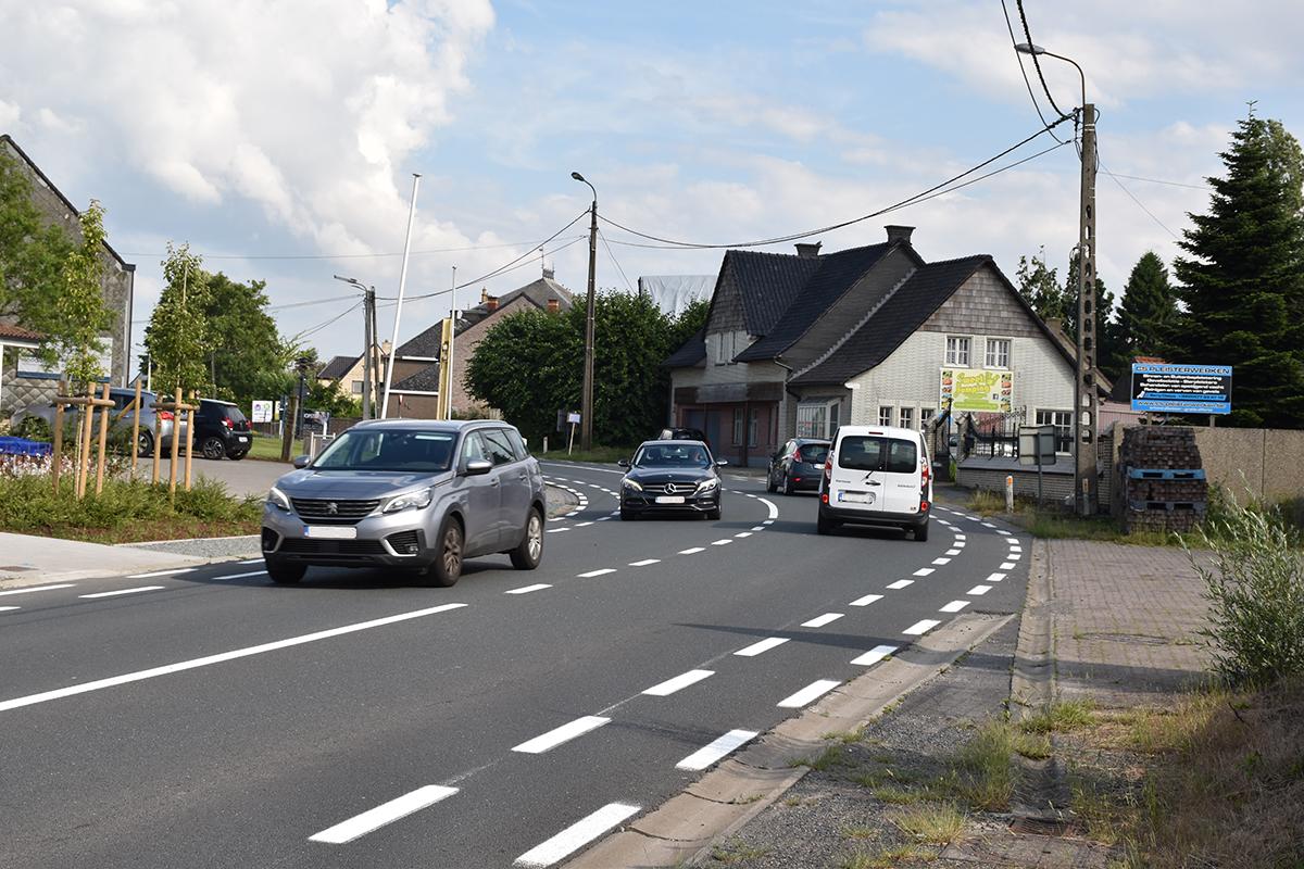 De N42 loopt door Wijnhuize