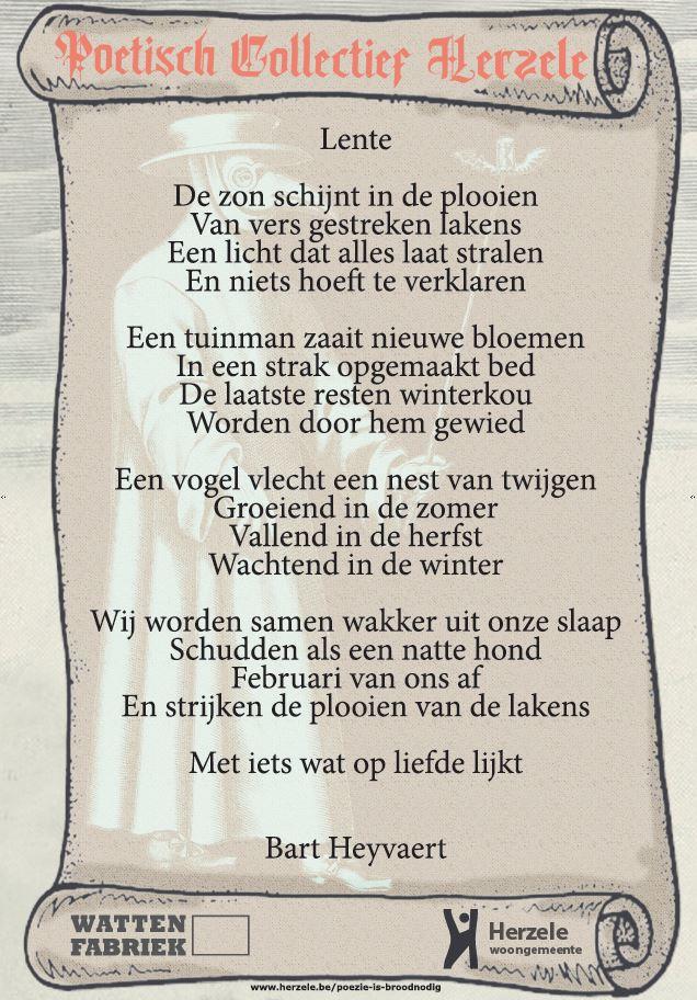 Het winnend gedicht.