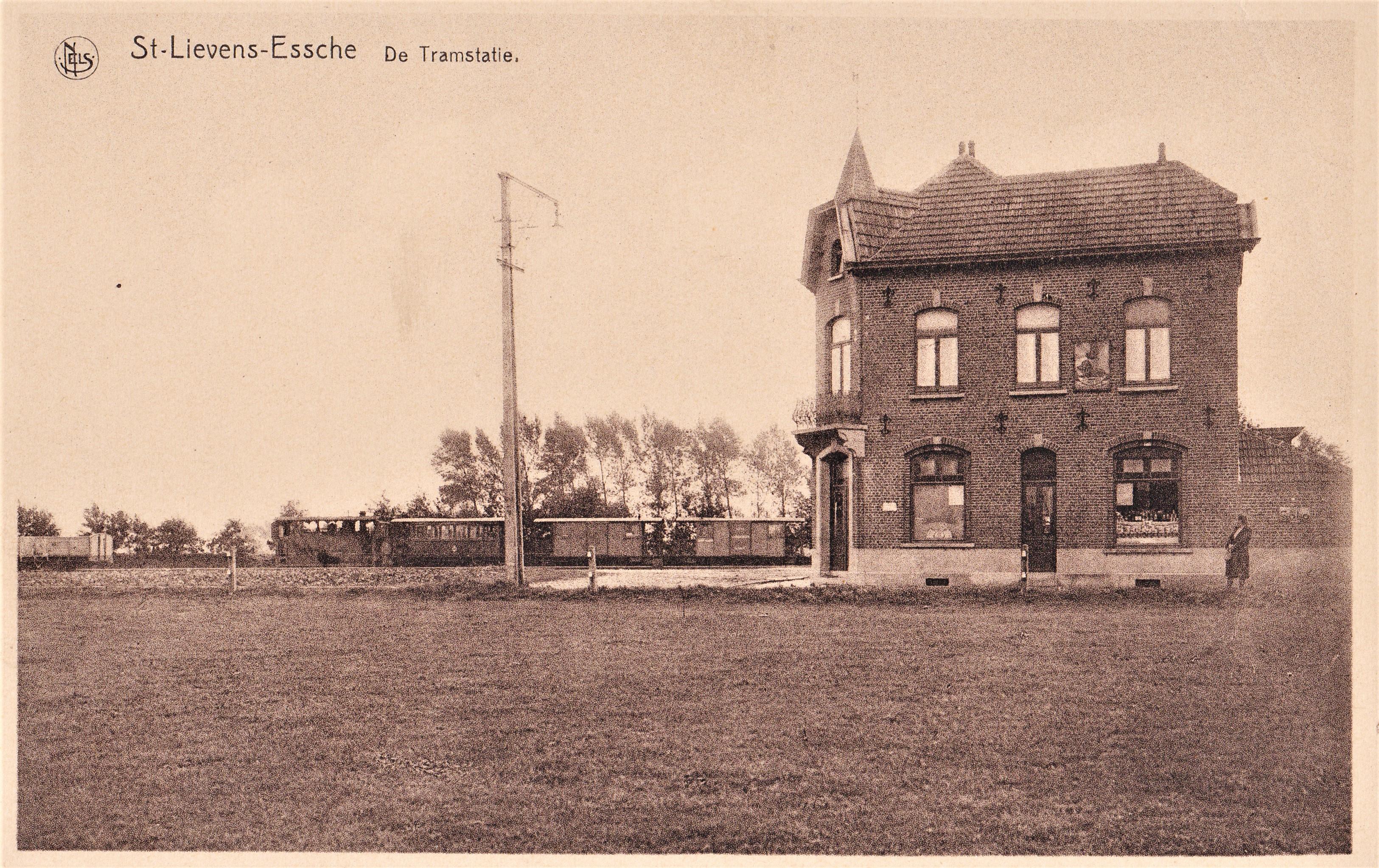 Tramstatie in Sint-Lievens-Esse